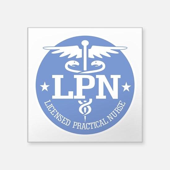 Caduceus LPN Sticker