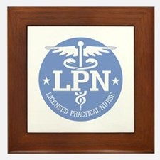 Caduceus LPN Framed Tile