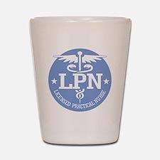 Caduceus LPN Shot Glass