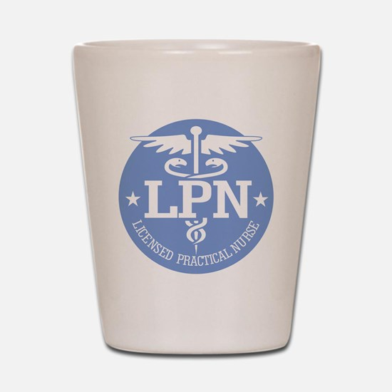 Caduceus LPN Shot Glass