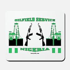 Nigeria Service Mousepad