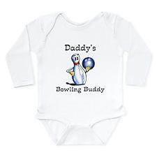 Cute Bowling Long Sleeve Infant Bodysuit