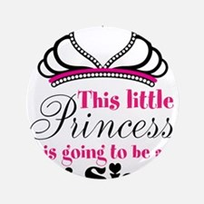 "Big Sister to be Princess 3.5"" Button"