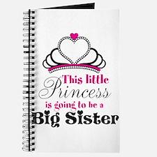 Big Sister to be Princess Journal