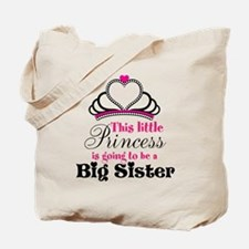 Big Sister to be Princess Tote Bag