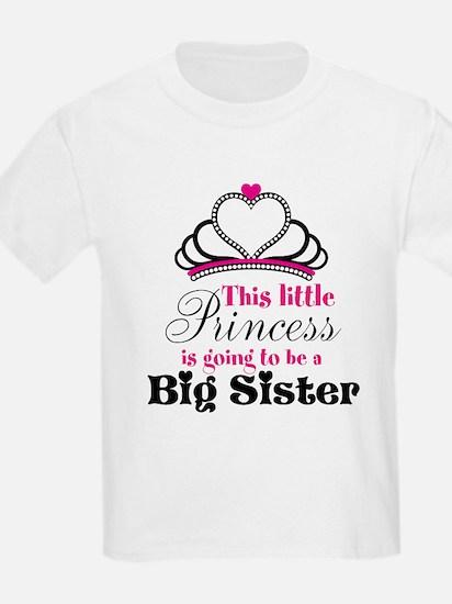 Big Sister to be Princess T-Shirt