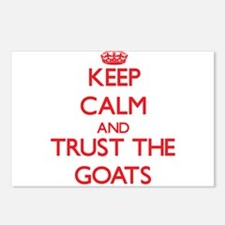 Keep calm and Trust the Goats Postcards (Package o