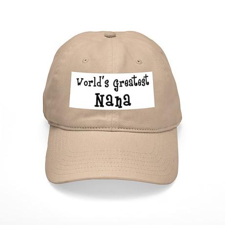 World's Greatest Nana Cap