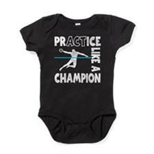 WATERPOLO PRACTICE Baby Bodysuit
