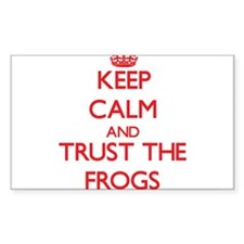 Keep calm and Trust the Frogs Decal