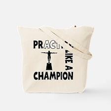 PRACTICE DIVING Tote Bag