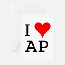 I Love AP Greeting Cards (Pk of 10)