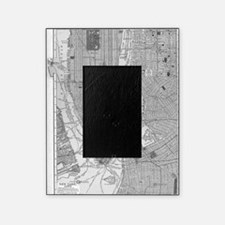 Vintage Map of Manhattan NYC Picture Frame