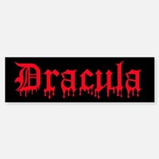 Dracula Bumper Bumper Bumper Sticker