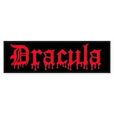 Dracula Bumper Bumper Sticker