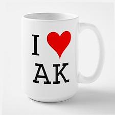 I Love AK Mug