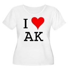 I Love AK T-Shirt