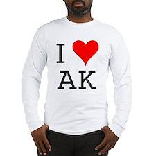 I Love AK Long Sleeve T-Shirt