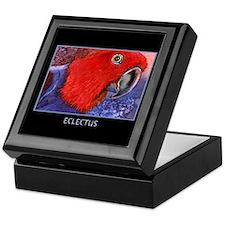 Eclectus Parrot Keepsake Box