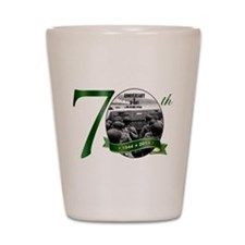 D-Day: The 70th Shot Glass