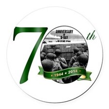 D-Day: The 70th Round Car Magnet
