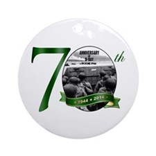 D-Day: The 70th Ornament (round)