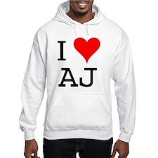 I Love AJ Hoodie