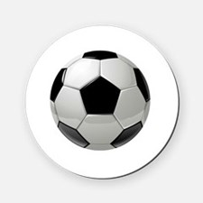 Soccer Ball Cork Coaster