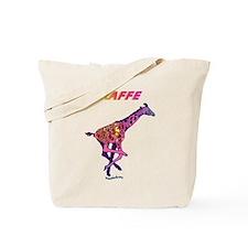 Fast Giraffe Tote Bag