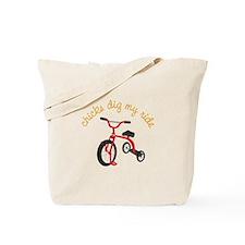 chicks dig my ride Tote Bag