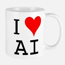 I Love AI Mug