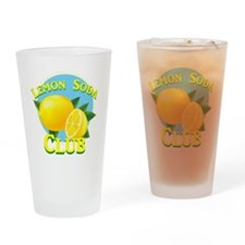 Lemon Soda Club Drinking Glass