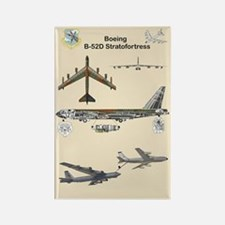 B-52 Stratofortress Rectangle Magnet Magnets