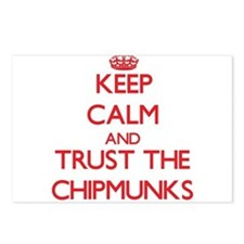 Keep calm and Trust the Chipmunks Postcards (Packa