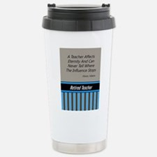 Retired Teacher Journal 3 Travel Mug