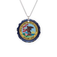 Illinois Seal.png Necklace