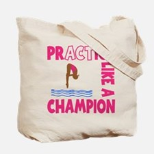 PRACTICE DIVING (both sides) Tote Bag