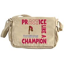 PRACTICE DIVING Messenger Bag