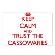 Keep calm and Trust the Cassowaries Postcards (Pac
