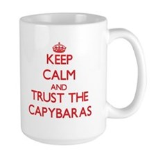 Keep calm and Trust the Capybaras Mugs