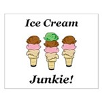 Ice Cream Junkie Small Poster