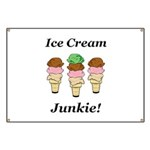 Ice Cream Junkie Banner