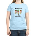 Ice Cream Junkie Women's Light T-Shirt