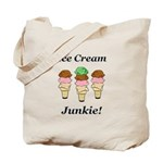 Ice Cream Junkie Tote Bag