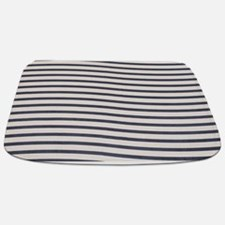 Black and White Wave bm Bathmat