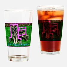Kimber The Special Needs Shiloh Shepherd Drinking