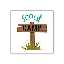 Scout CAMP Sticker