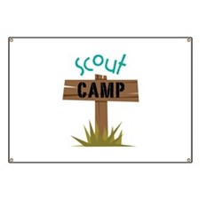 Scout CAMP Banner