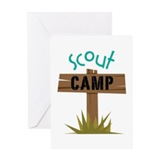Scout CAMP Greeting Cards
