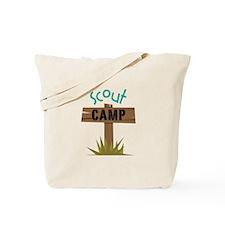 Scout CAMP Tote Bag